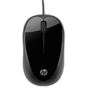 Mouse com Fio Usb X1000 Preto Hp