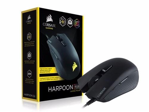 Mouse Gamer Corsair Harpoon Rgb 6000Dpi 6 Botões