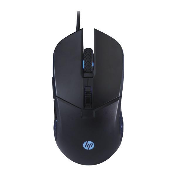 Mouse Gamer HP - G260 BLACK - 1000 / 2400 DPI