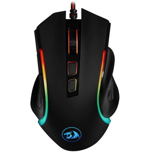 Mouse Gamer Redragon Griffin RGB 7200dpi