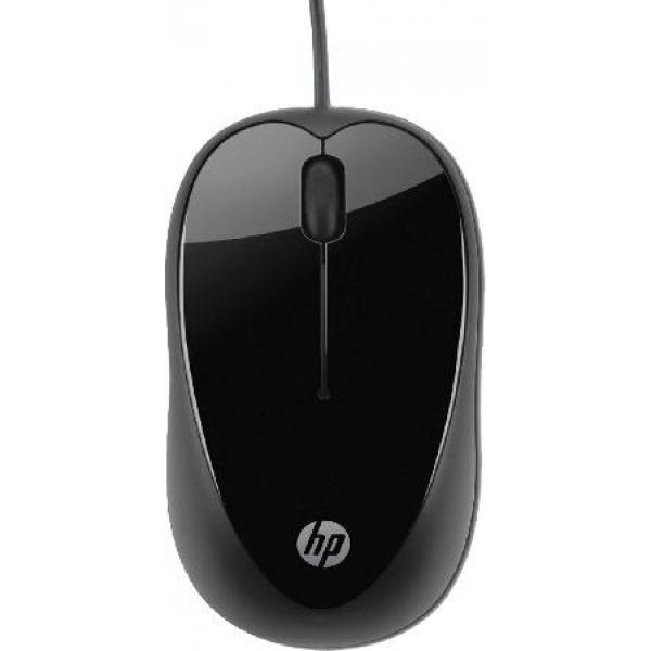 Mouse HP USB X1000 H2C21AA - Preto