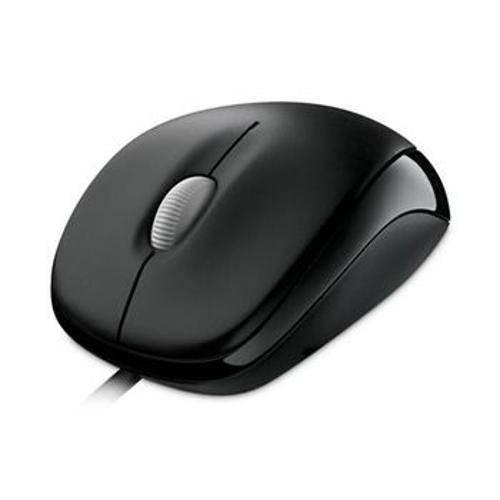 Mouse Microsoft Compact Wired 500 Usb Preto - U81-00010