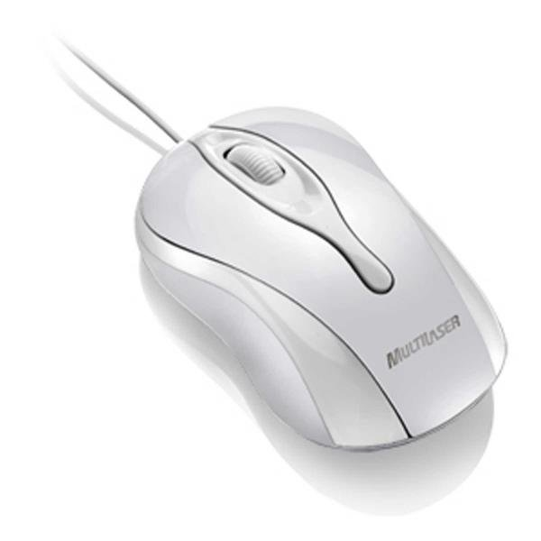 Mouse Multilaser Ice USB Branco