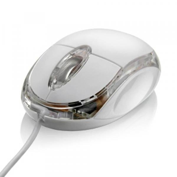 Mouse Óptico Gelo USB Multilaser - MO034