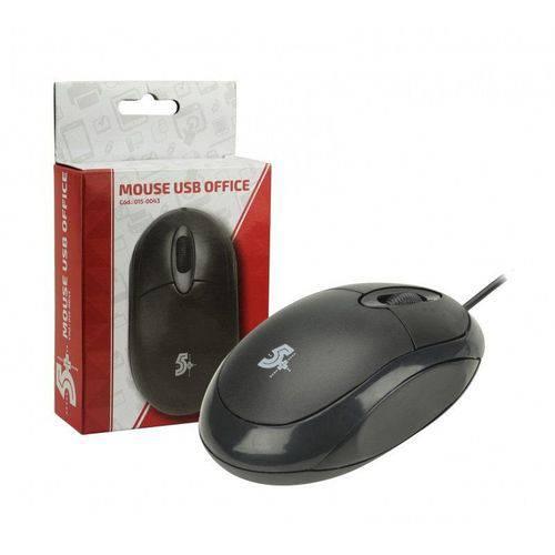 Tudo sobre 'Mouse Ótico USB Office Preto 1000DPI 015-0043 CHIPSCE'