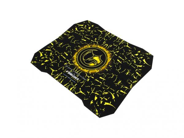 Mouse Pad Bright 0429 Gamer Amarelo