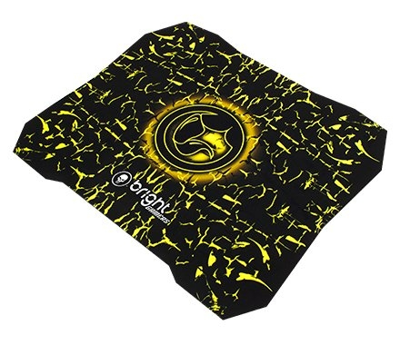Mouse Pad Bright Gamer Amarelo - 0429
