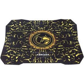 Mouse Pad Gamer Bright 0429 - Preto/Amarelo