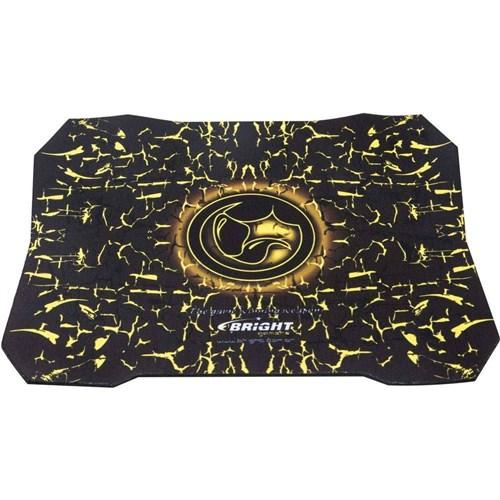 Mouse Pad Gamer Preto/Amarelo Bright 0429