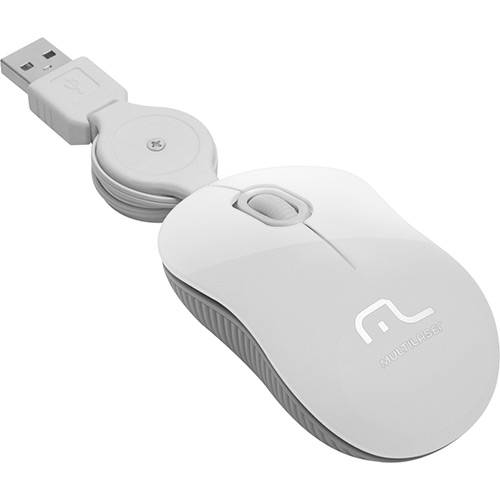Tudo sobre 'Mouse Retrátil Super Mini Ice USB - Multilaser'