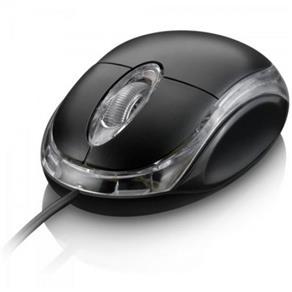 Mouse Scroll USB 800DPI MO007 CLASSIC MULTILASER Preto