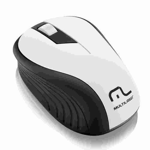 Mouse Sem Fio 2.4ghz Preto e Branco- Mo216 Multilaser