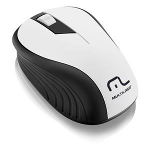 Mouse Sem Fio Multilaser 2.4 GHz MO216 - Preto/Branco