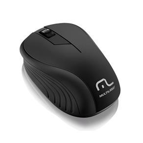 Mouse - Sem Fio - Multilaser - Preto - MO212
