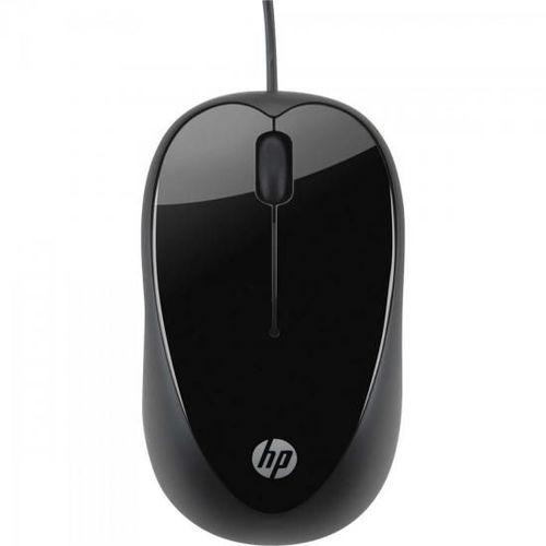 Mouse Usb 1600 Dpi X1000 Preto Hp