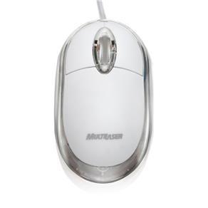 Mouse USB Classic Óptico 800dpi Gelo MO034 - Multilaser