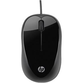 Mouse USB Preto X1000 1000DPI H2C21AA HP