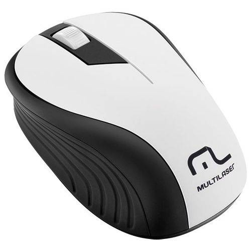 Mouse Wireless Multilaser Mo216 Wave Branco