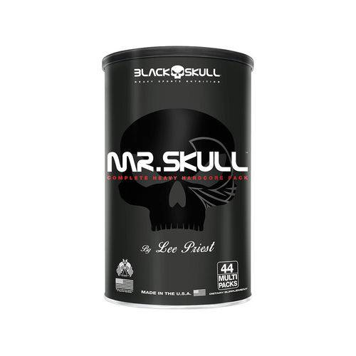 Tudo sobre 'Mr. Skull (44 Packs) Black Skull'