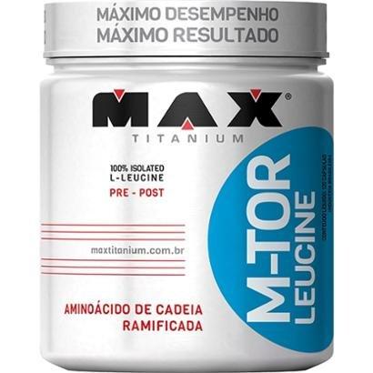 MTor Leucine 120 Cápsulas Max Titanium