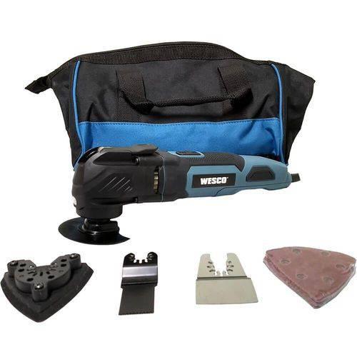 Tudo sobre 'Multi-ferramenta Oscilante 300w 220V WS5123K - Wesco'