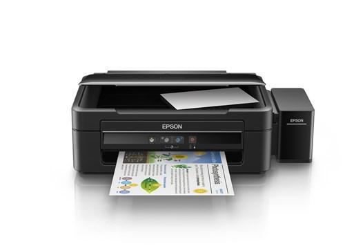 Multifuncional Epson Tanque de Tinta L380 Usb 2.0 - Imprime, Copia e D...