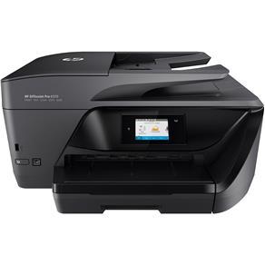 Multifuncional HP OfficeJet OFFPRO 6970 Jato de Tinta Colorida, USB, Wi-Fi, - Bivolt