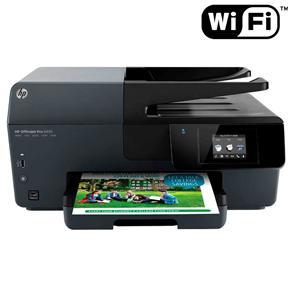 Multifuncional HP Officejet Pro 6830 – Impressora, Copiadora, Scanner e Fax com Conexão WiFi