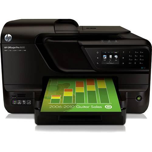 Multifuncional HP Officejet Pro 8600 com Wi-Fi