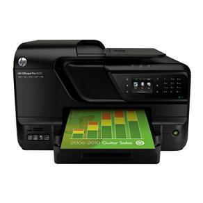 Multifuncional HP Officejet Pro 8600 Wireless com Fax, Leitor de Cartões e USB