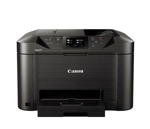 Multifuncional Jato de Tinta Color Canon Maxify MB5110 Wireless C/ 01 Bandeja 110V