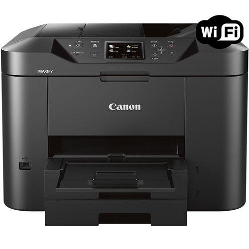 Multifuncional Jato de Tinta Color Canon Maxify MB2710 Wireless C/ 01 Bandeja 110V