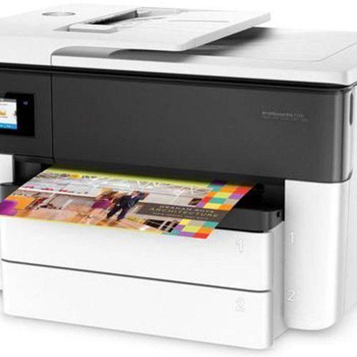 Multifuncional Jato de Tinta Color Hp G5j38aac4 Oj 7740 A3 Imp/Duplex/Copia/Dig/Wifi/Rede/Fax 34pp