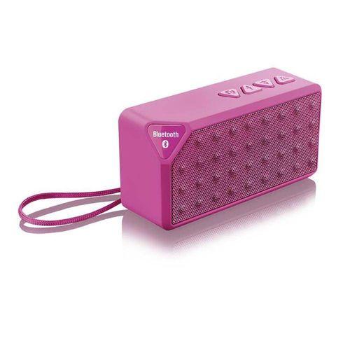 Multilaser Caixa de Som Bluetooth Music 8w Rms Rosa Sp175