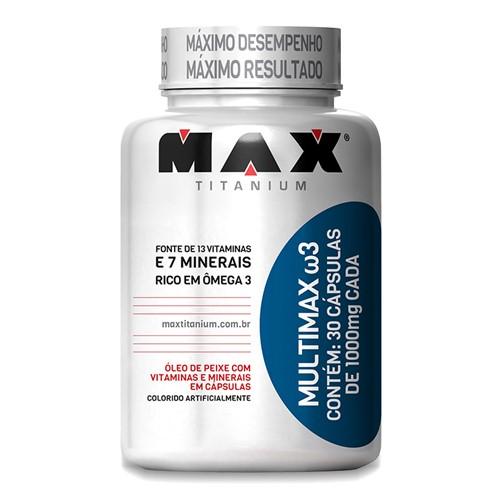 Tudo sobre 'Multimax ?3 (30caps) Max Titanium'