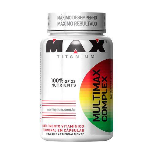 Multimax Complex 90 Caps - Max Titanium