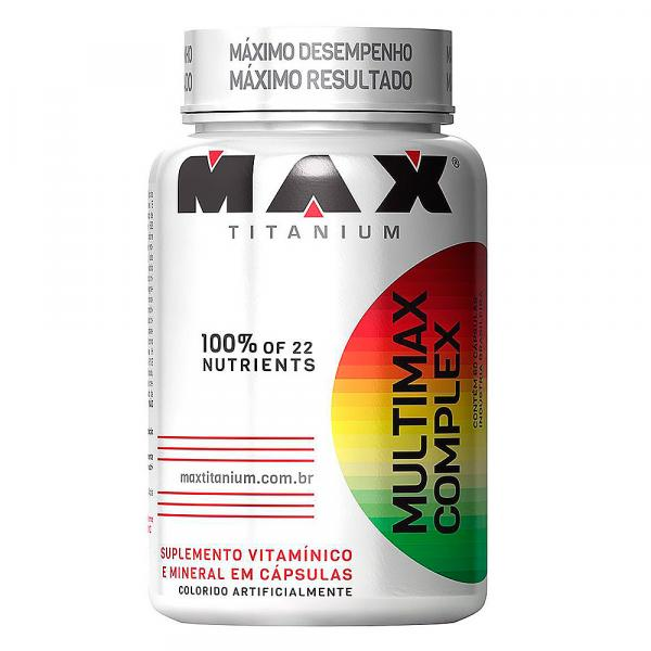 Multimax Complex 90 Cápsulas Max Titanium - Max Titanium