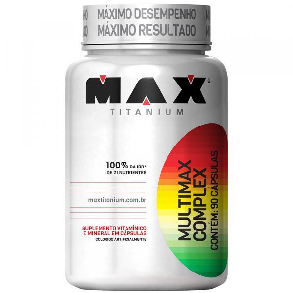 Multimax Complex 90 Cápsulas - Max Titanium - Max Titanium