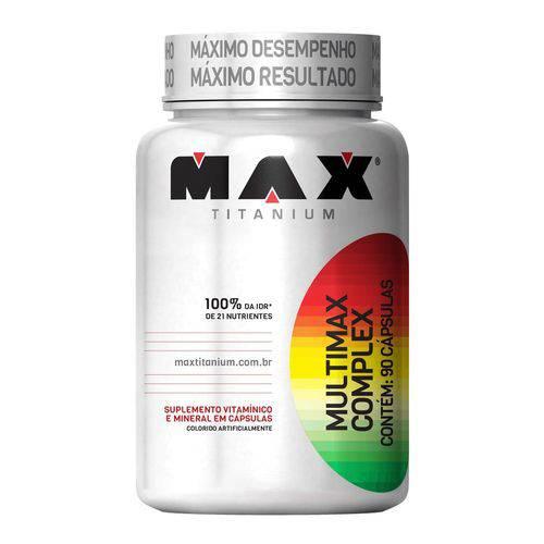 Multimax Complex - 90 Cápsulas - Max Titanium