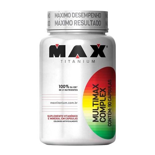 Multimax Complex - 90 Cápsulas