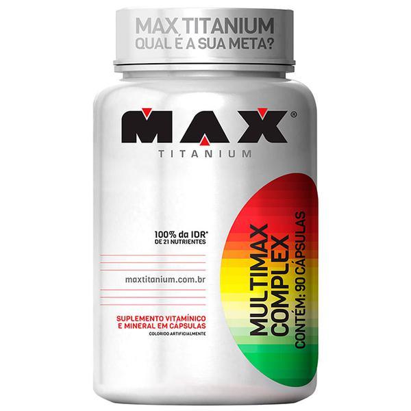 Multimax Complex - Max Titanium - 90 Cápsulas.