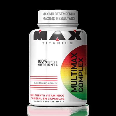 Multimax Complex - Max Titanium (90 Cps)