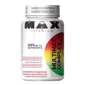 Multimax Complex - Max Titanium - Natural - 90 Cápsulas