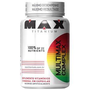 Multimax Complex - Max Titanium - Sem Sabor - 60 Cápsulas