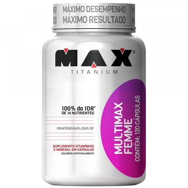 Multimax Femme 120 Cápsulas - Max Titanium - Max Titanium