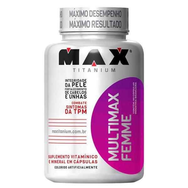 Multimax Femme 120 Cápsulas Max Titanium - Max Titanium