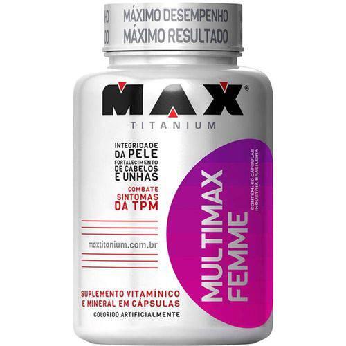 Multimax Femme (60 Caps) - Max Titanium