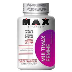 Multimax Femme (60 Caps) Max Titanium