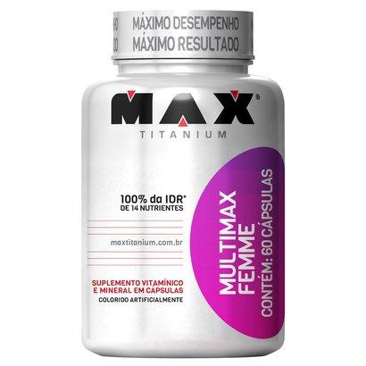 Multimax Femme 60 Cáps - Max Titanium