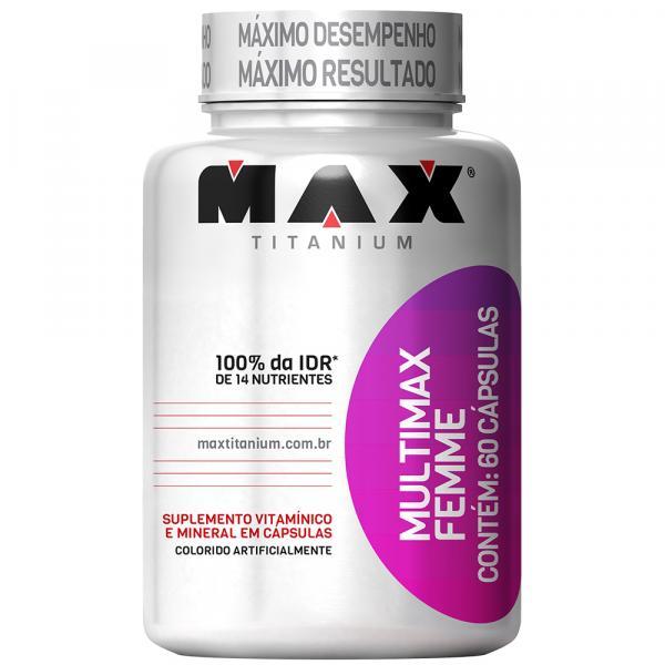 Multimax Femme 60 Cápsulas - Max Titanium - Max Titanium
